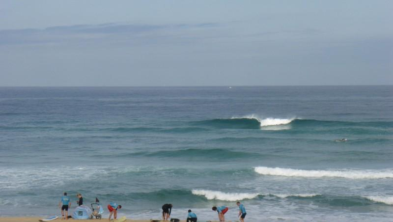 Surf report Seignosse - Les Casernes - France (40) 2009-07-24 12:00:00