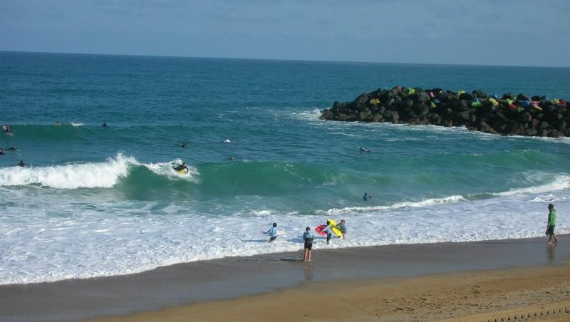 Surf report Anglet Surf Club - France (64) 2009-07-29 12:00:00