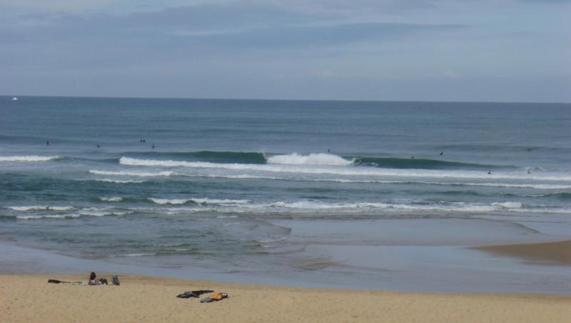 Surf report Seignosse - Les Casernes - France (40) 2009-08-03 10:00:00