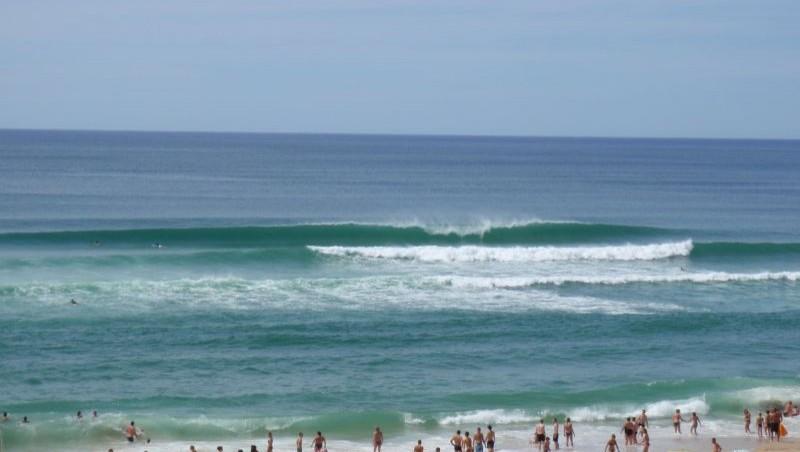 Surf report Biscarrosse Plage - France (40) 2009-08-04 15:35:00