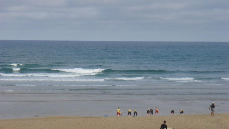 Surf report Seignosse - Les Casernes - France (40) 2009-08-05 09:00:00