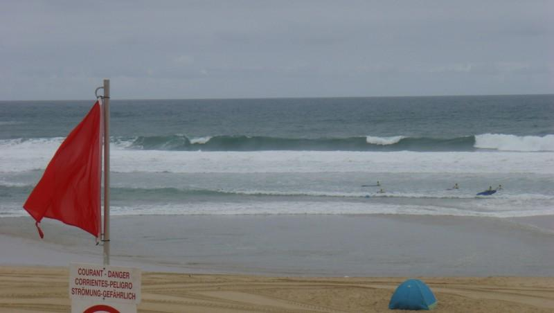 Surf report Seignosse - Les Casernes - France (40) 2009-08-06 11:00:00