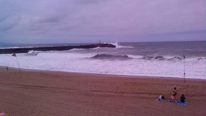 Surf report Anglet La Barre - France (64) 2009-08-06 14:00:00