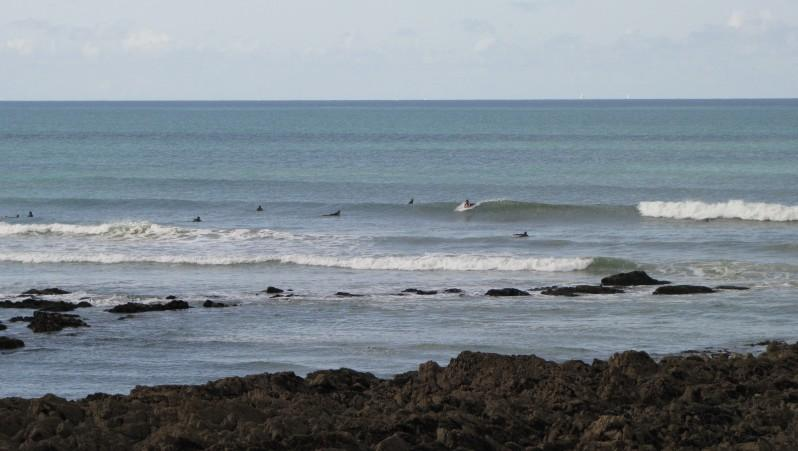Surf report Penhors - France (29) 2009-08-07 11:30:00