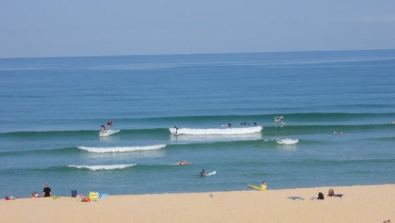 Surf report Seignosse - Les Casernes - France (40) 2009-08-11 10:30:00
