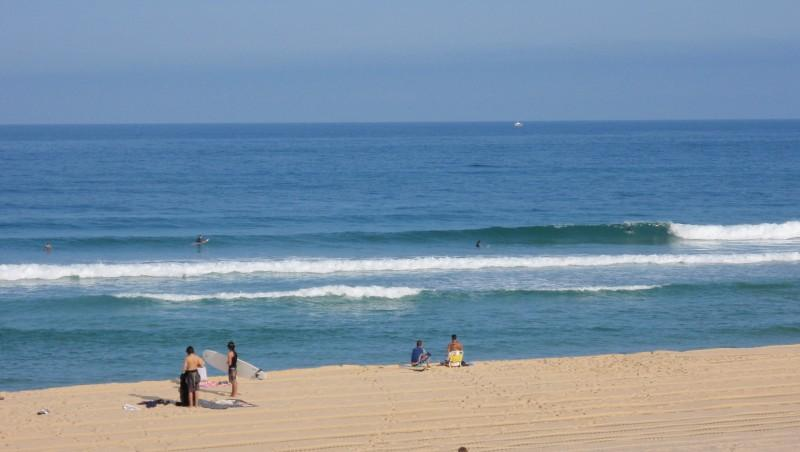 Surf report Seignosse - Les Casernes - France (40) 2009-08-12 10:00:00