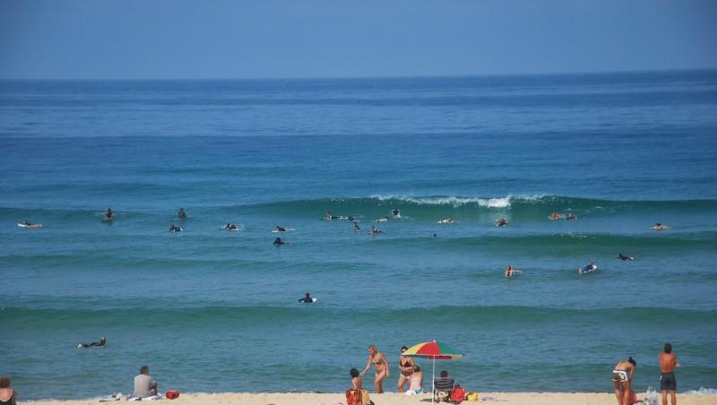 Surf report Seignosse - Les Casernes - France (40) 2009-08-14 11:00:00