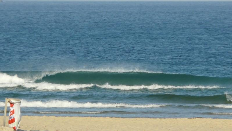 Surf report Mimizan - Plage Sud - France (40) 2009-08-15 08:40:00