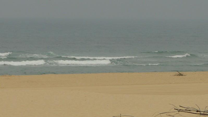 Surf report Mimizan - Plage Sud - France (40) 2009-08-17 08:40:00