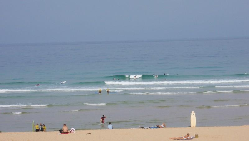 Surf report Seignosse - Les Casernes - France (40) 2009-08-17 11:00:00