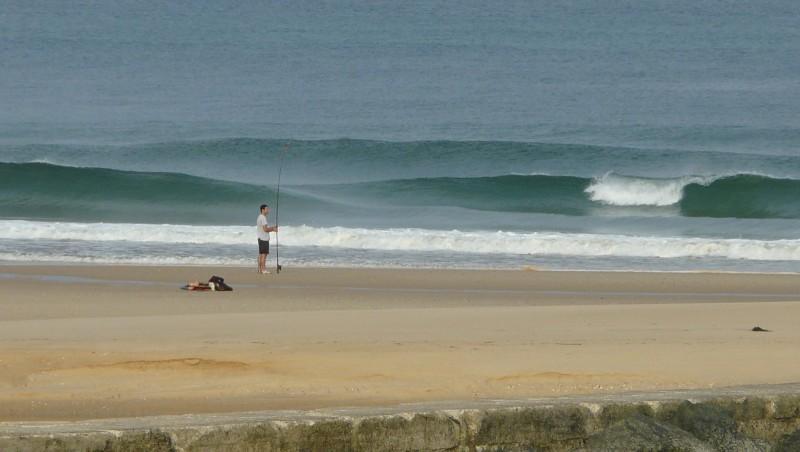Surf report Mimizan - Plage Garluche - France (40) 2009-08-18 08:35:00