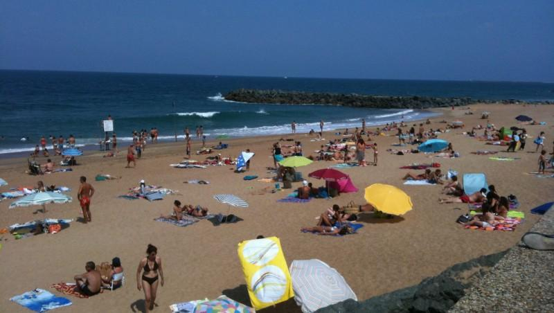 Surf report Anglet Surf Club - France (64) 2009-08-18 13:02:00
