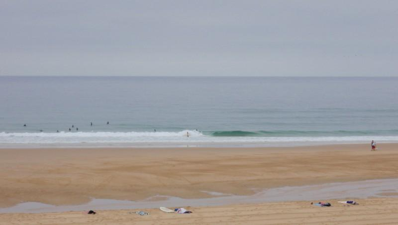 Surf report Seignosse - Les Casernes - France (40) 2009-08-19 10:00:00
