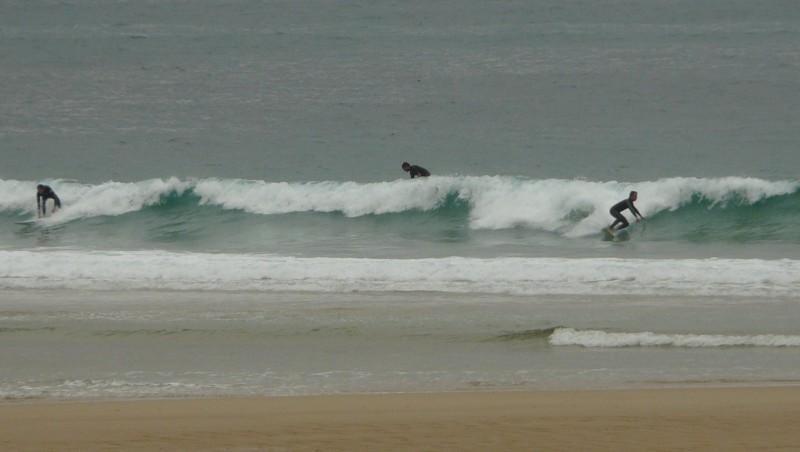 Surf report Mimizan - Plage Garluche - France (40) 2009-08-20 08:40:00