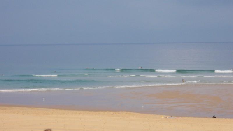 Surf report Seignosse - Les Casernes - France (40) 2009-08-20 09:30:00