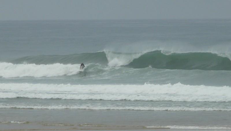 Surf report Mimizan - Plage Garluche - France (40) 2009-08-21 08:40:00