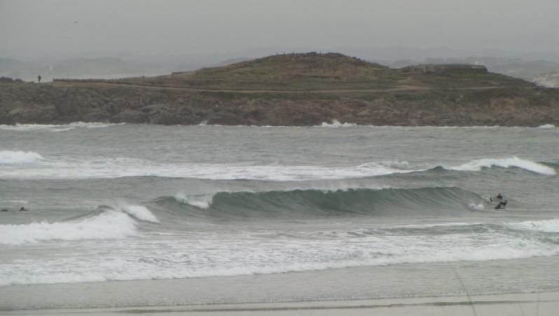 Surf report Pors Carn - France (29) 2009-08-22 09:00:00