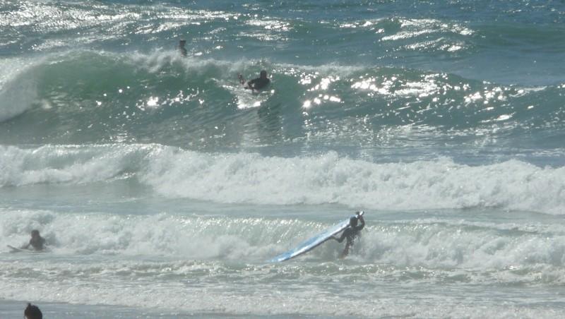 Surf report Mimizan - Plage Garluche - France (40) 2009-08-22 15:40:00