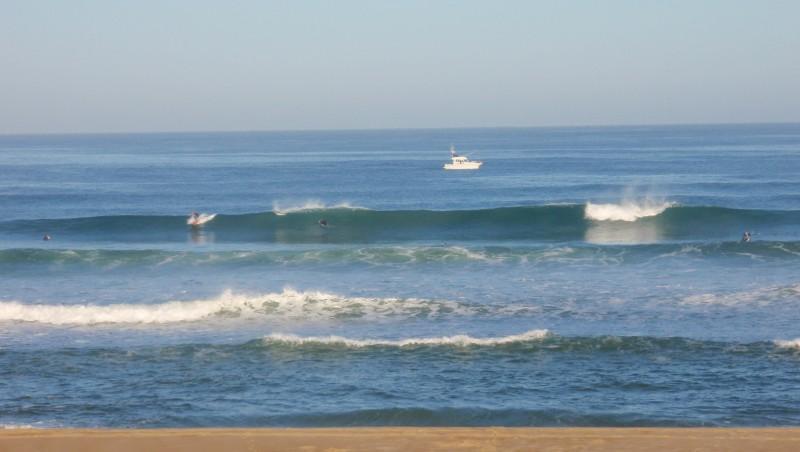 Surf report Seignosse - Les Casernes - France (40) 2009-08-23 08:30:00