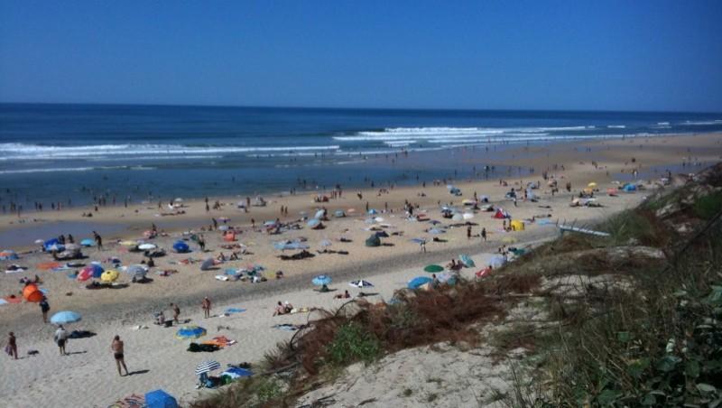 Surf report Biscarrosse Plage - France (40) 2009-08-23 15:15:00