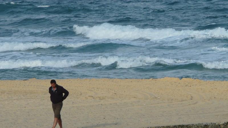 Surf report Mimizan - Plage Garluche - France (40) 2009-08-24 08:50:00