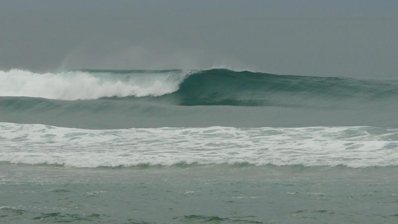 Surf report Mimizan - Plage Garluche - France (40) 2009-08-25 08:30:00