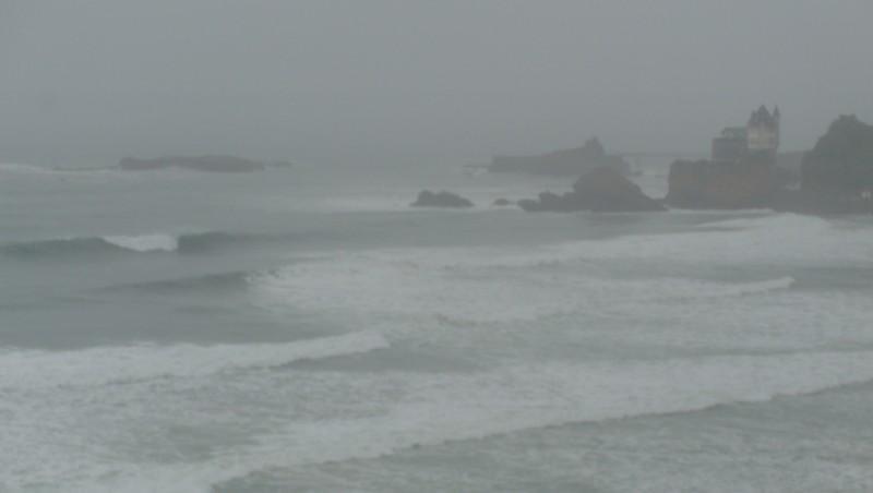 Surf report Côte des Basques - France (64) 2009-08-28 09:50:00