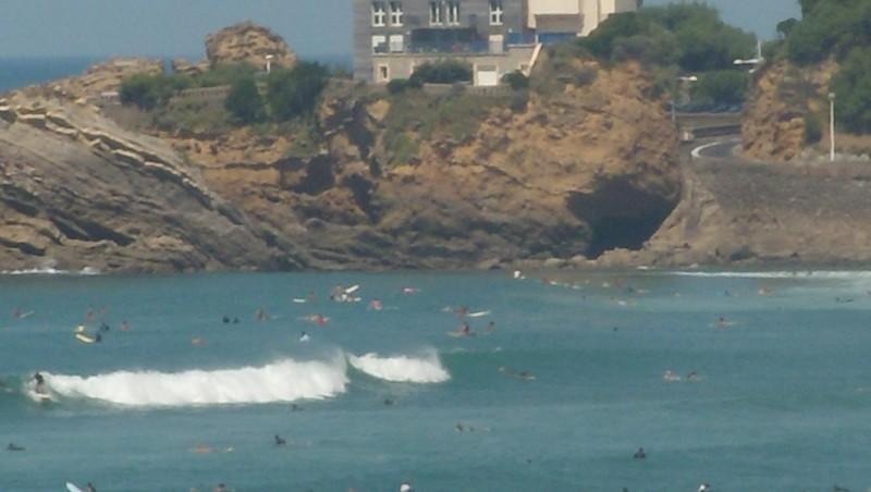 Surf report Côte des Basques - France (64) 2009-08-26 09:00:00