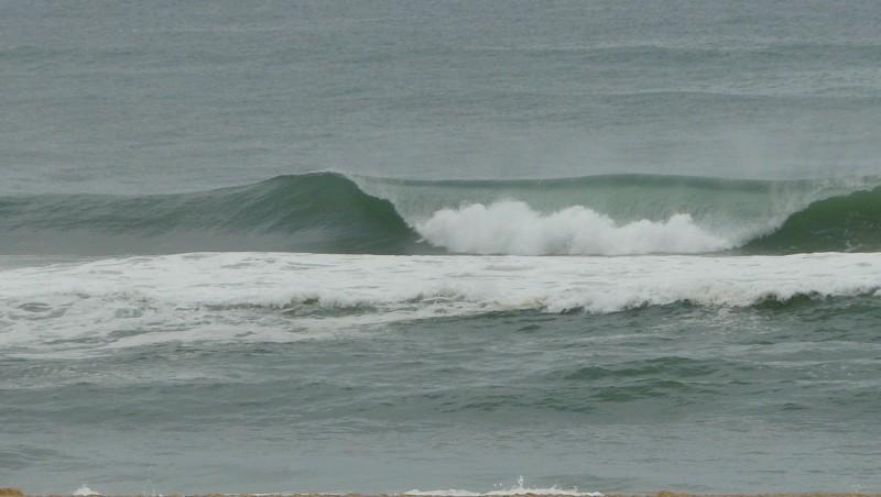 Surf report Mimizan - Plage Garluche - France (40) 2009-08-29 08:30:00