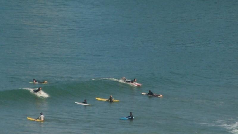 Surf report Côte des Basques - France (64) 2009-08-31 11:00:00