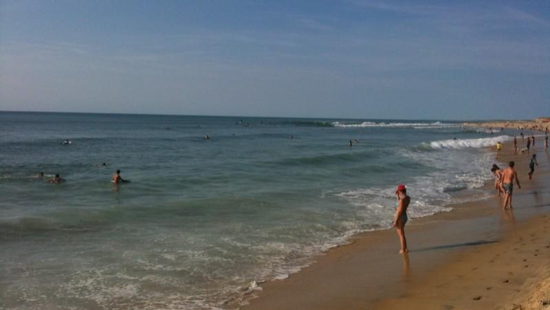 Surf report Biscarrosse Plage - France (40) 2009-09-06 17:54:00