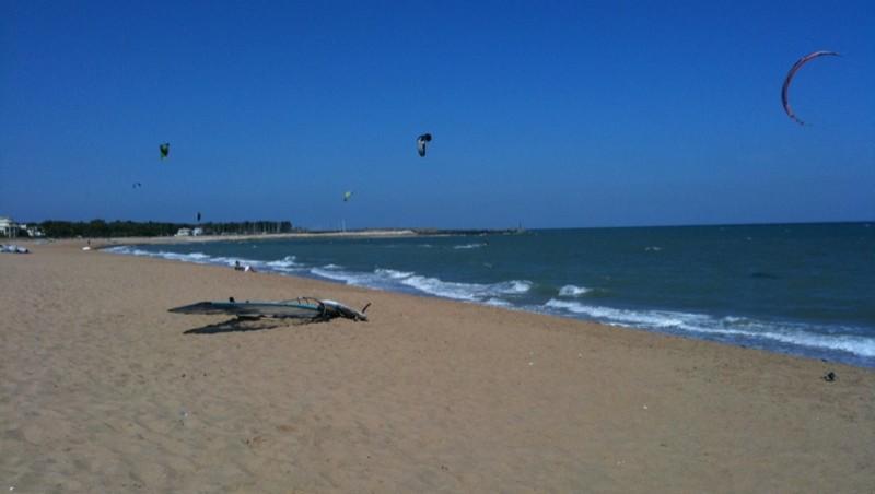 Surf report Plaisance - France (17) 2009-09-13 13:23:00