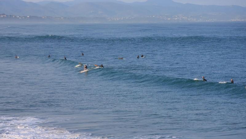 Surf report Côte des Basques - France (64) 2009-09-17 09:10:00