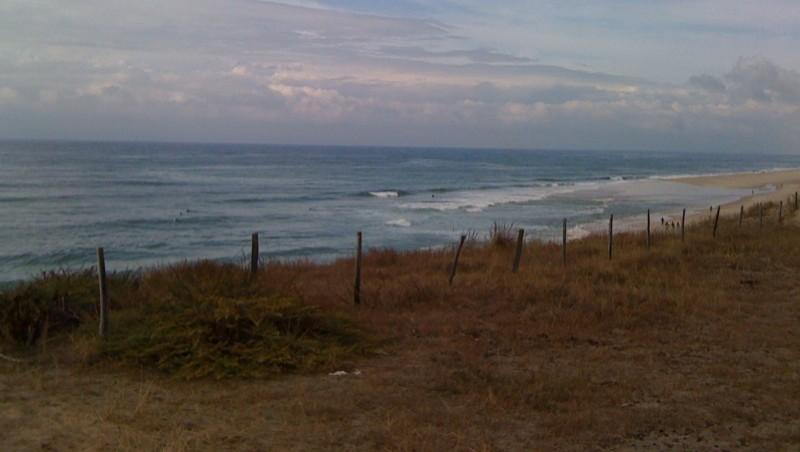 Surf report Biscarrosse Plage - France (40) 2009-09-18 16:19:00