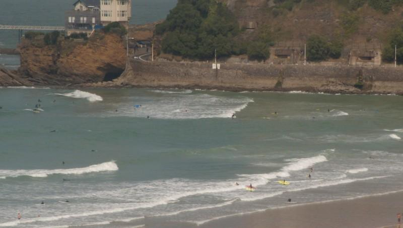 Surf report Côte des Basques - France (64) 2009-09-20 14:10:00