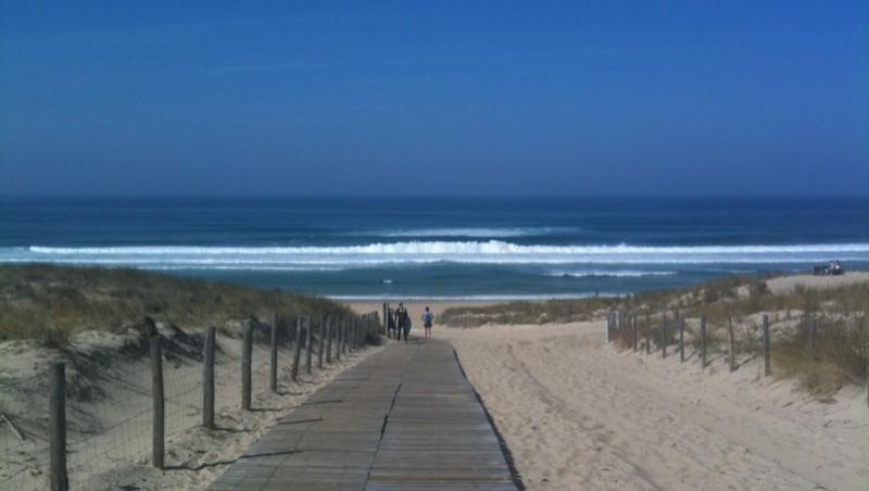 Surf report Le Truc vert - France (33) 2009-09-24 12:50:00