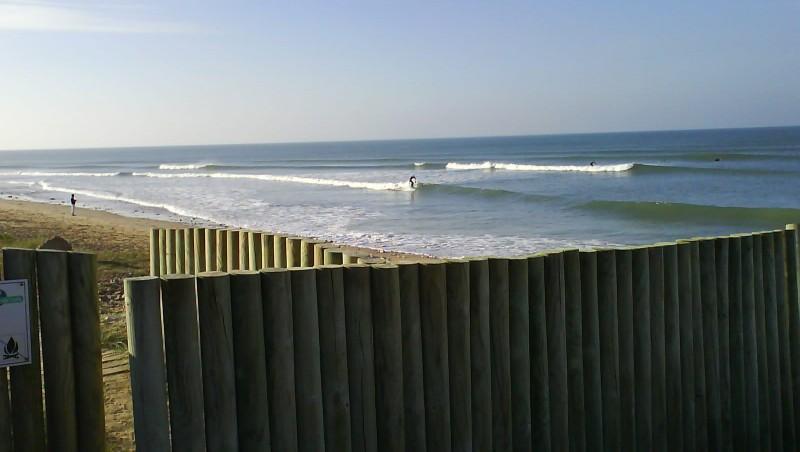 Surf report Les Grenettes - France (17) 2009-09-25 10:00:00