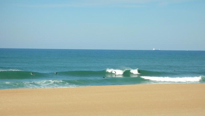 Surf report Anglet Corsaires - France (64) 2009-10-13 13:25:00