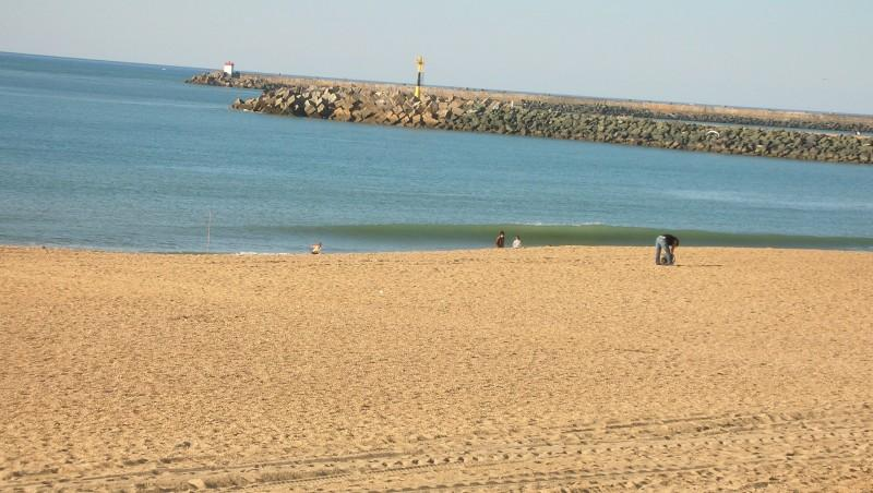 Surf report Anglet Les Cavaliers - France (64) 2009-10-14 16:45:00