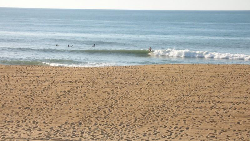 Surf report Anglet Corsaires - France (64) 2009-10-14 17:30:00
