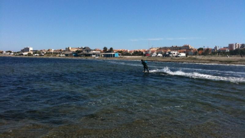 Surf report Leucate - Les Pêcheurs - France (11) 2009-10-18 12:30:00