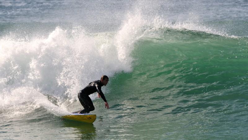 Surf report Seignosse - Les Estagnots - France (40) 2009-10-19 15:00:00