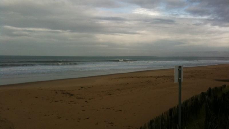 Surf report La Térrière - France (85) 2009-10-22 10:50:00