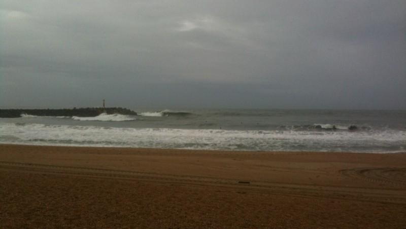 Surf report Anglet La Barre - France (64) 2009-10-23 13:00:00