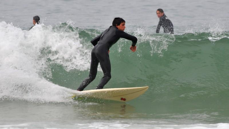 Surf report Capbreton - Les Digues - France (40) 2009-10-26 11:00:00