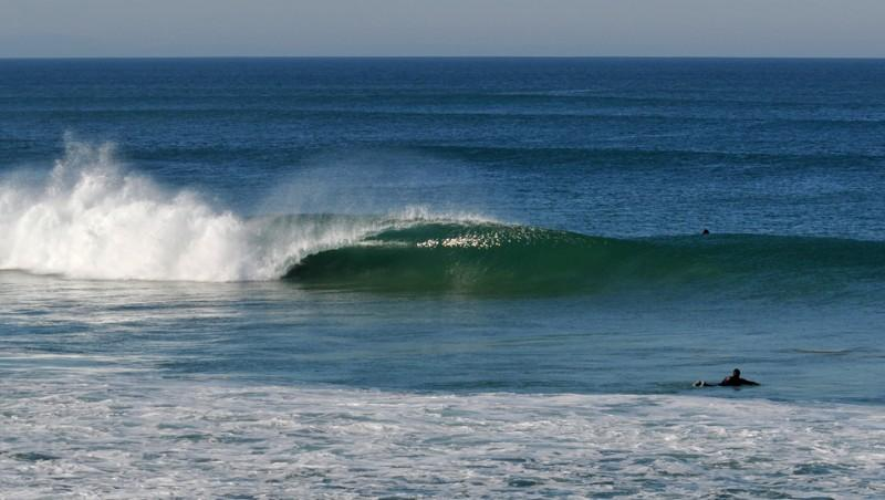 Surf report Capbreton - Le Santosha - France (40) 2009-10-27 10:00:00