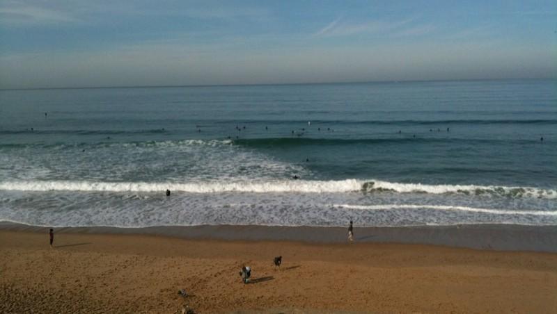 Surf report Bidart Centre - France (64) 2009-10-29 11:15:00