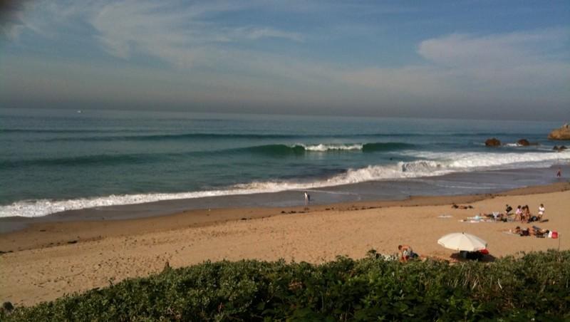 wave report Bidart Erretegia - France (64) 2009-10-30 13:41:00