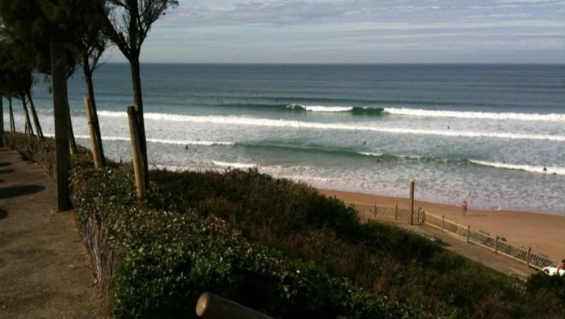 Surf report Bidart Centre - France (64) 2009-11-01 12:00:00