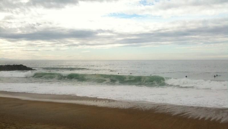 Surf report Anglet Surf Club - France (64) 2009-11-01 14:35:00